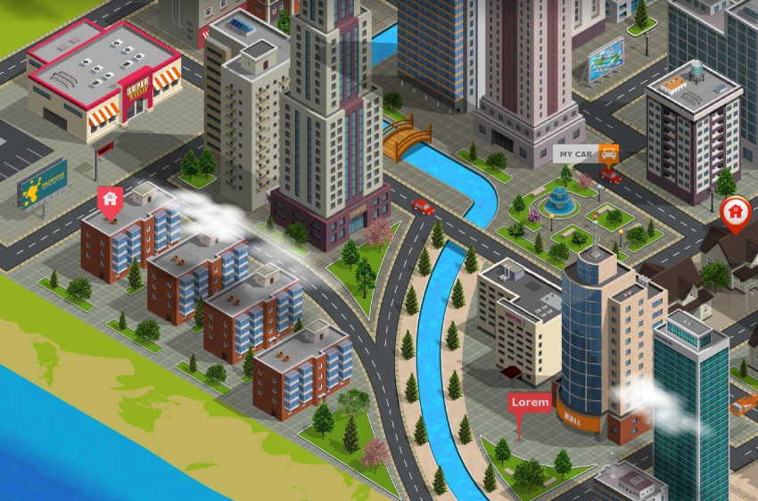 3D City And Map Generator By Designhatti