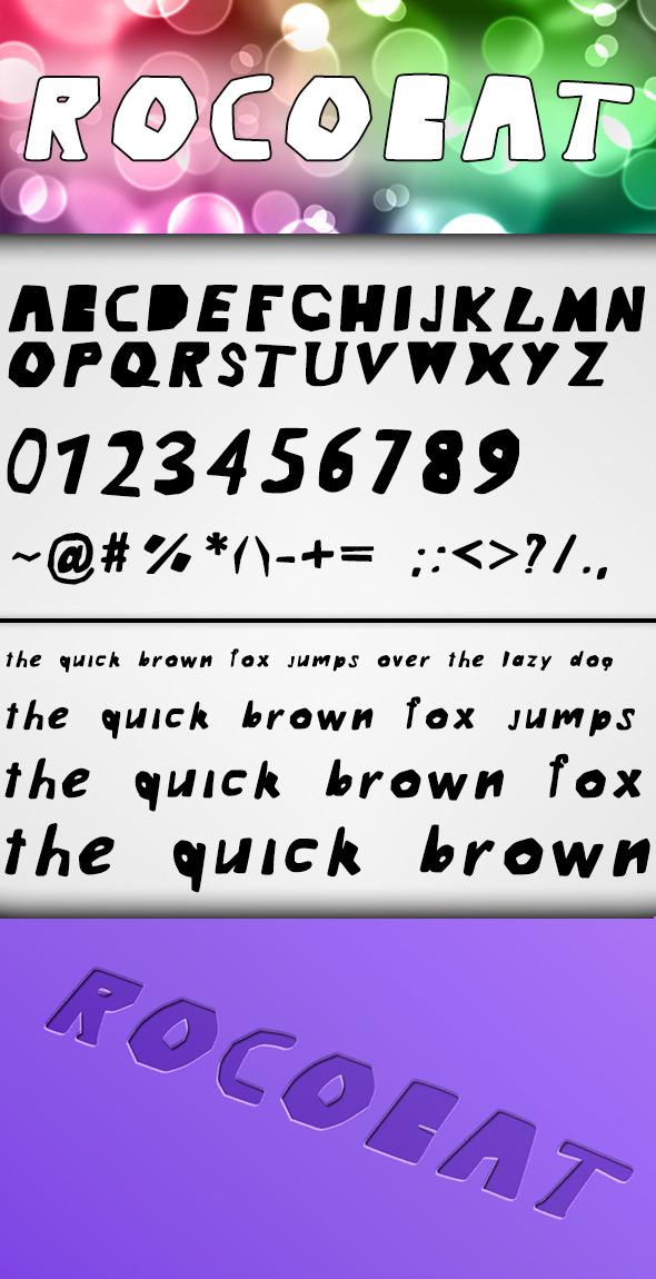 Rocobat Font