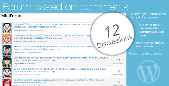 CodeCanyon Forum based on comments 8416220