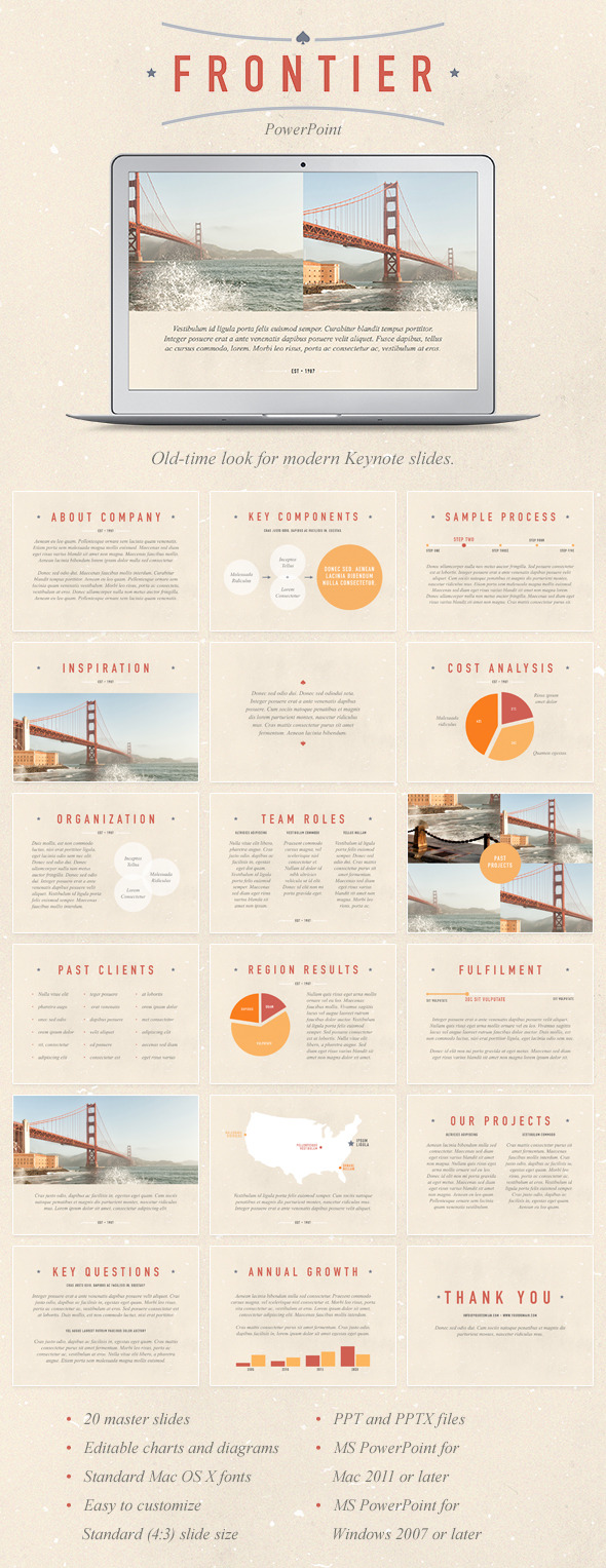 Frontier PowerPoint Template