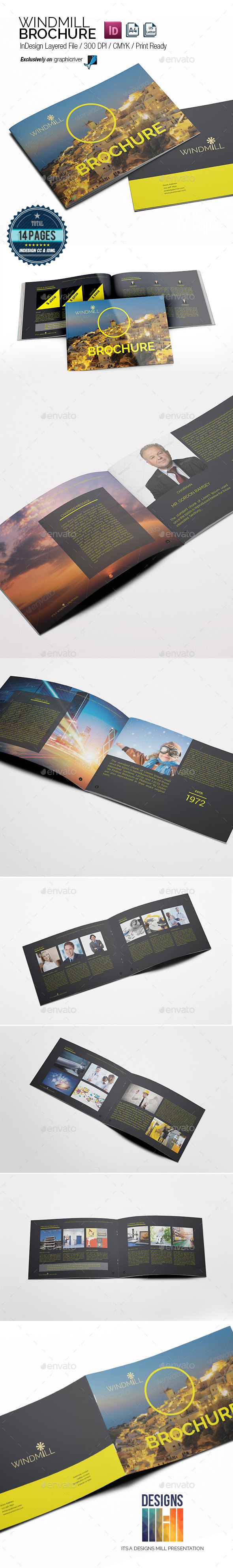GraphicRiver Windmill Multipurpose Brochure 8813256