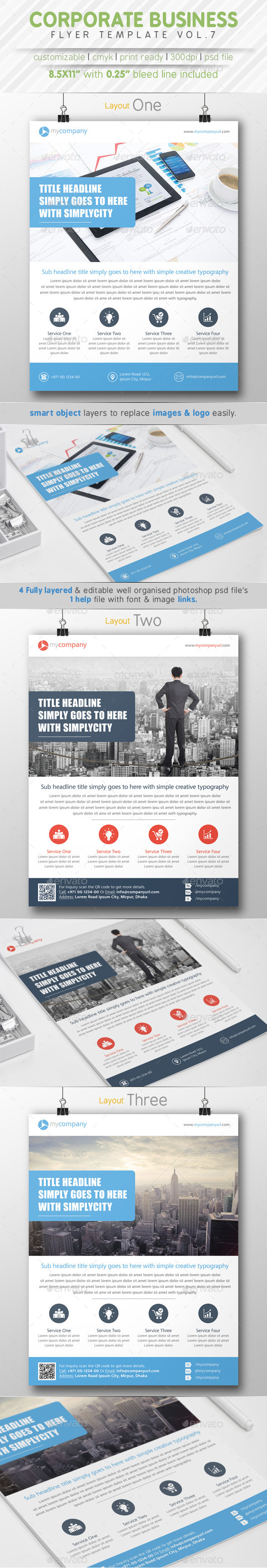 GraphicRiver Corporate Business Flyer Vol.7 8781950