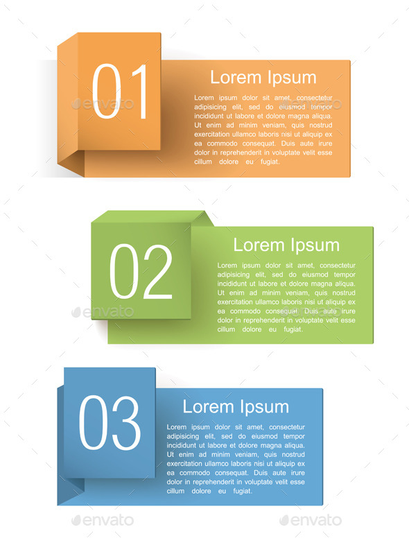 GraphicRiver Origami Banners 8813424