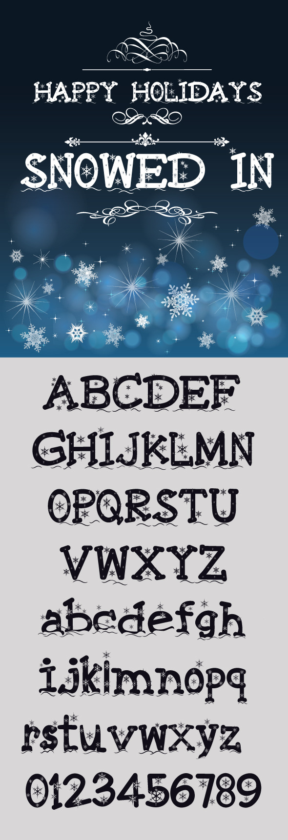 Snowed In Font