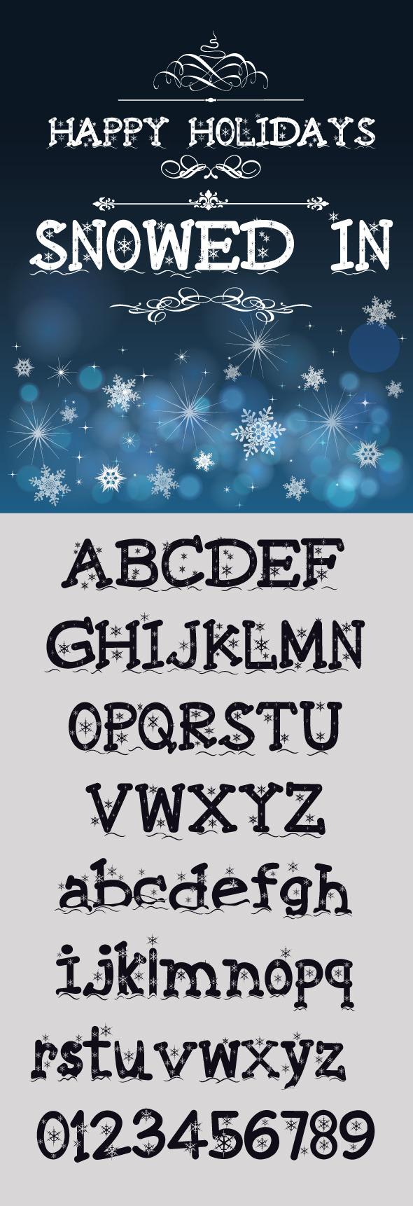 Snowed In Font