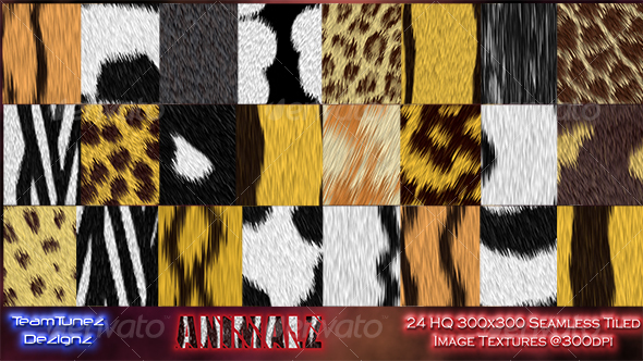 Animalz Volume 1 -TTD - Nature Textures
