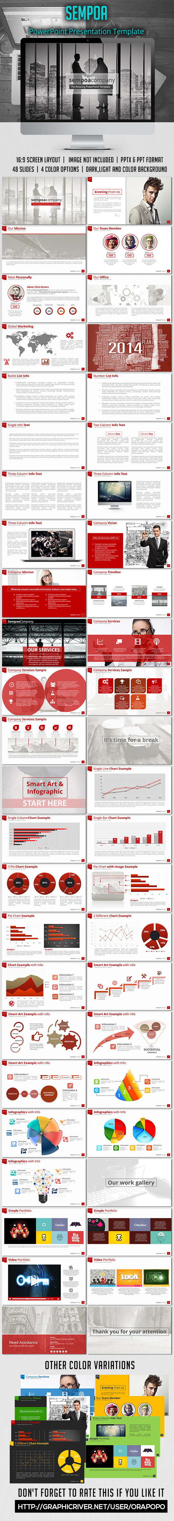 GraphicRiver Sempoa PowerPoint Presentation Template 8797946