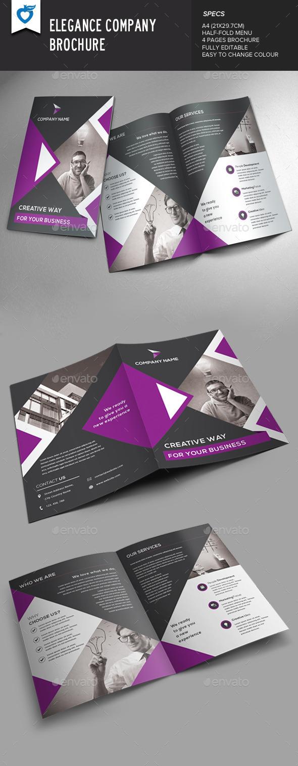 GraphicRiver Elegance Company Brochure 8815149