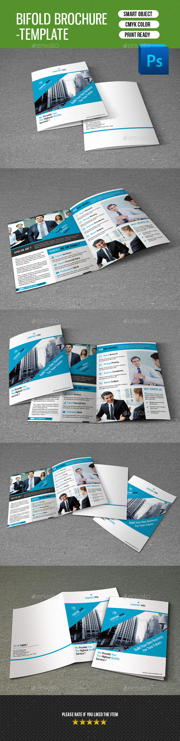 GraphicRiver Business Brochure Template-V127 8815156