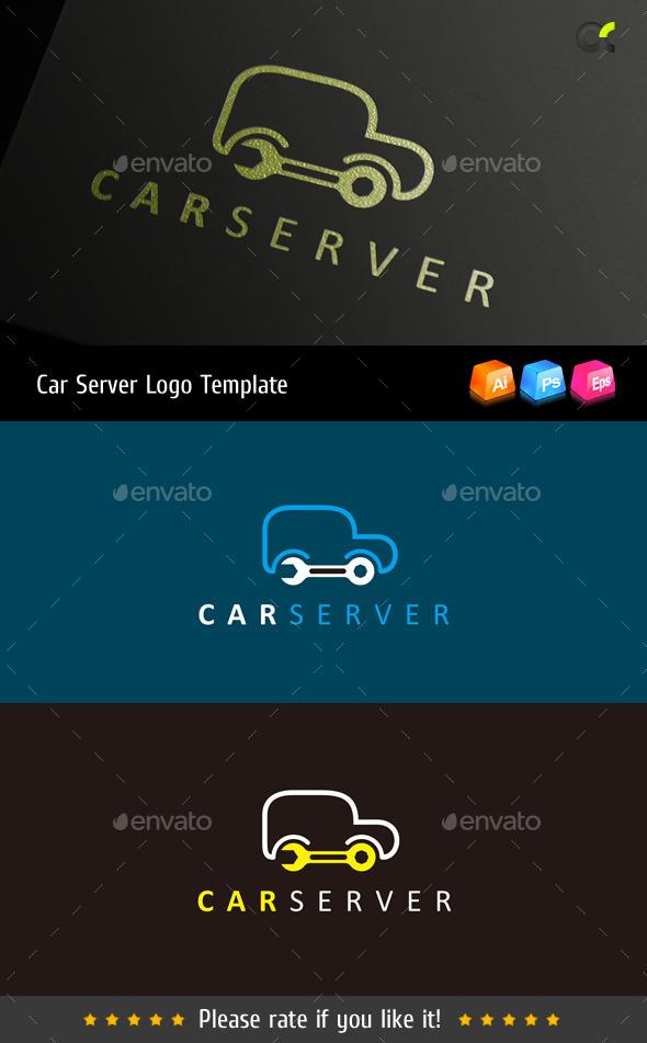GraphicRiver Car Server Logo Template 8815273