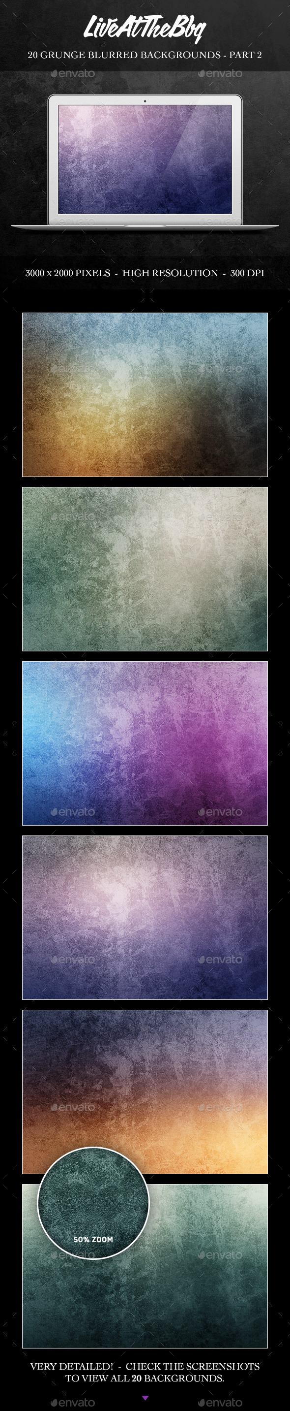 GraphicRiver 20 Grunge Blurred Backgrounds Part 2 8815306