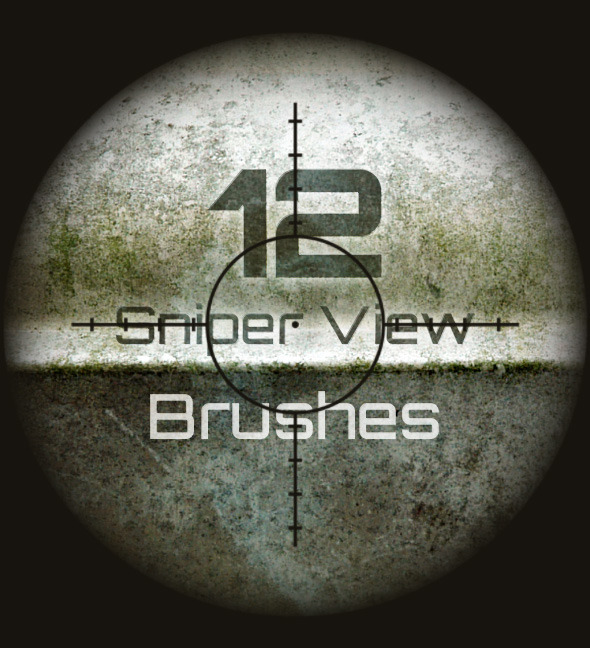 12 Sniper Scope Brushes - Miscellaneous Brushes