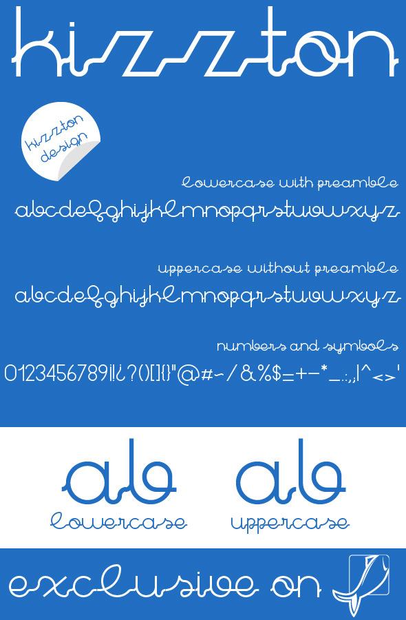 Kizzton Premium Font
