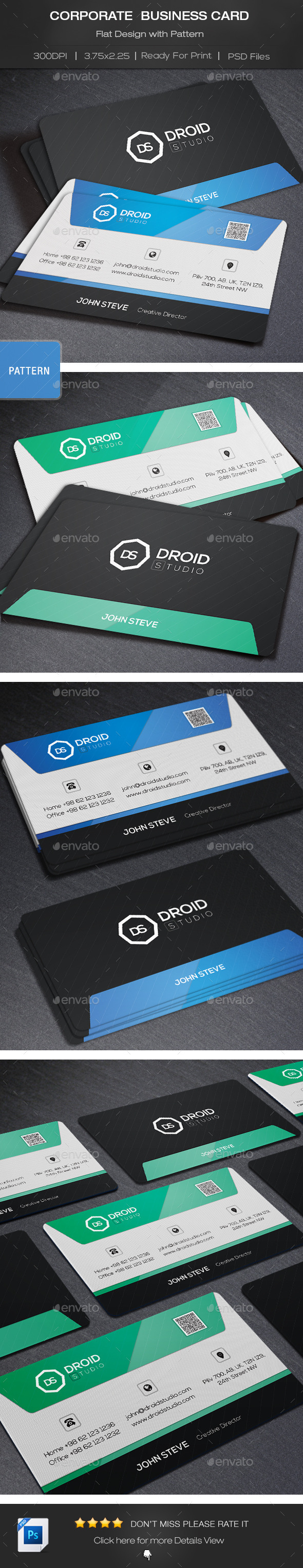 GraphicRiver Corporate Business Card 8815638