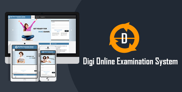 CodeCanyon Digi Onlline Examination System DOES 8610180