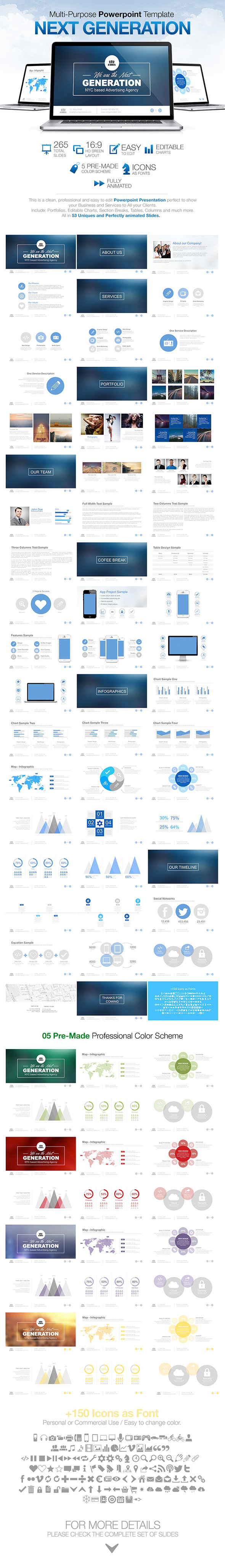 Next Generation - Powerpoint - Powerpoint Templates Presentation Templates