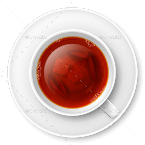 GraphicRiver Cup of Black Tea 8816043