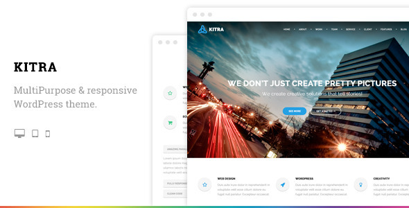 ThemeForest Kitra MultiPurpose Responsive WordPress Theme 8775955