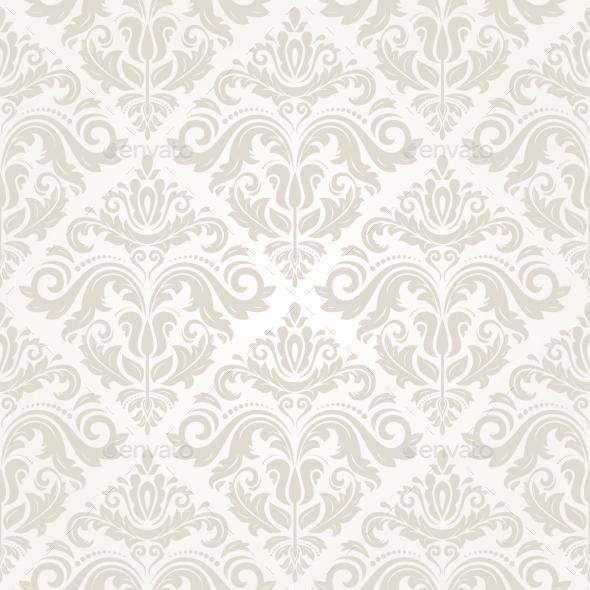 GraphicRiver Damask Floral Pattern 8816627