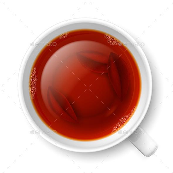 GraphicRiver Cup of Black Tea 8816696
