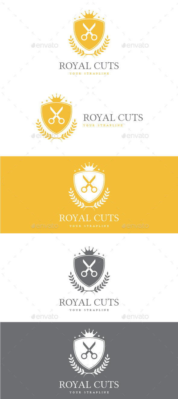 GraphicRiver Royal Cuts Logo 8816794
