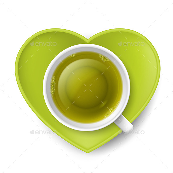 GraphicRiver Romantic Tea Drinking 8816811