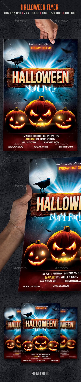 GraphicRiver Halloween Flyer 8816822