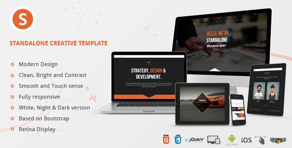 ThemeForest Standalone Creative Portfolio HTML Template 8816849