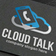 Cloud Talk Logo - GraphicRiver Item for Sale