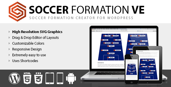 CodeCanyon Soccer Formation VE 8816875