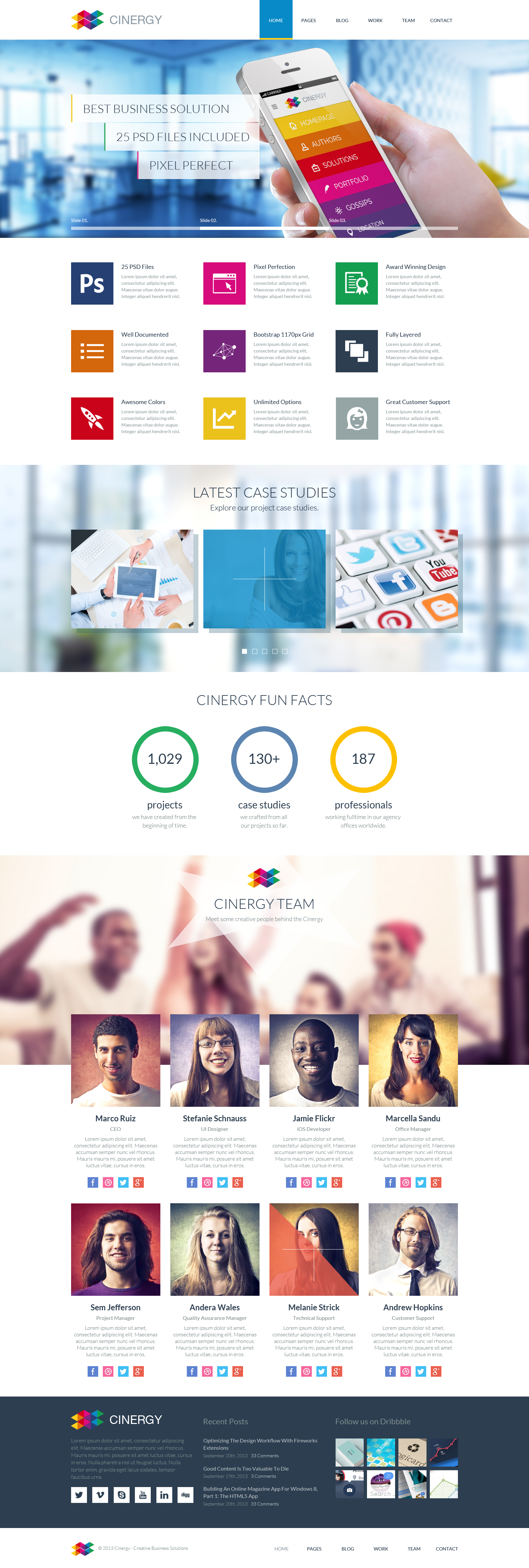 Cinergy - Modern Business Wordpress Theme