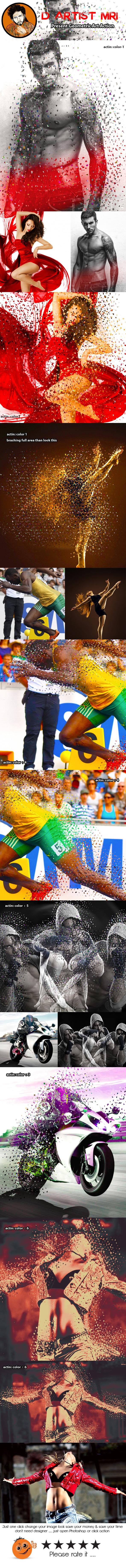 Color Full Dispertion