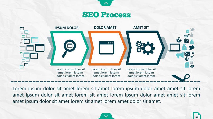 Infographic SEO Keynote V.02 by kh2838 | GraphicRiver