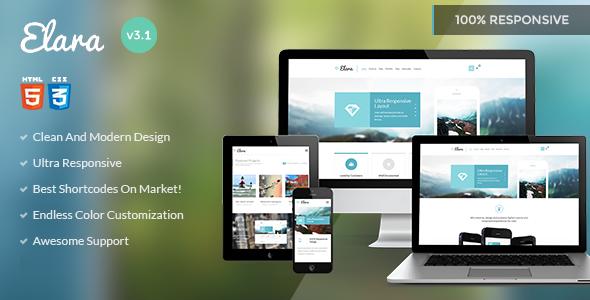 Elara - Multipurpose HTML Template - Business Corporate