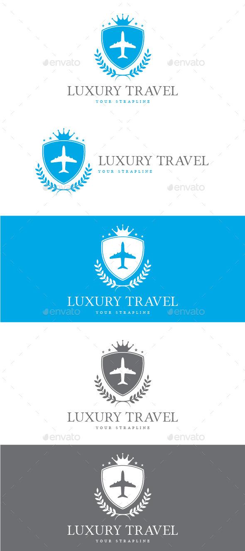 GraphicRiver Luxury Travel Logo 8817107