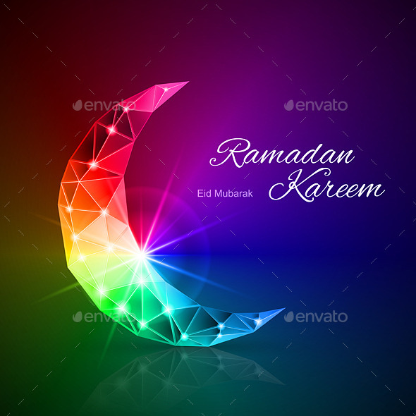 GraphicRiver Greeting Card of Month Ramadan 8817466