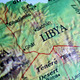 Libya on world globe - PhotoDune Item for Sale