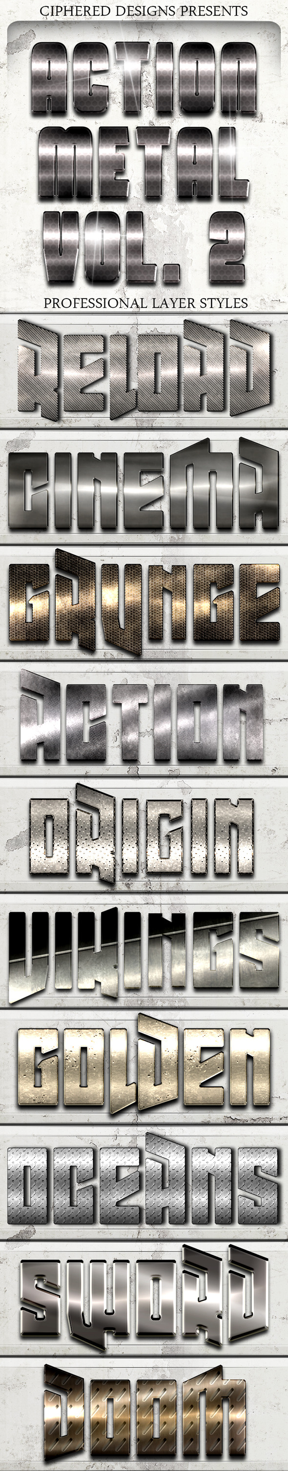 Action Metal 02 Pro Text Effects