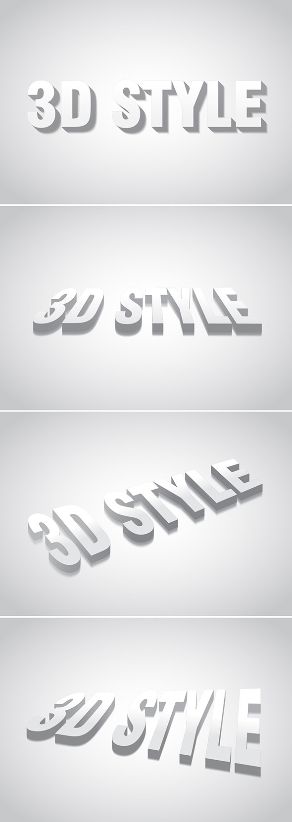 3D Graphic Style