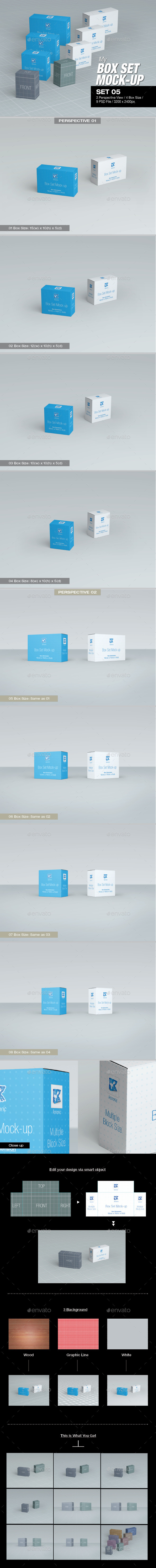 GraphicRiver MyBox Set Mock-up 05 8817690