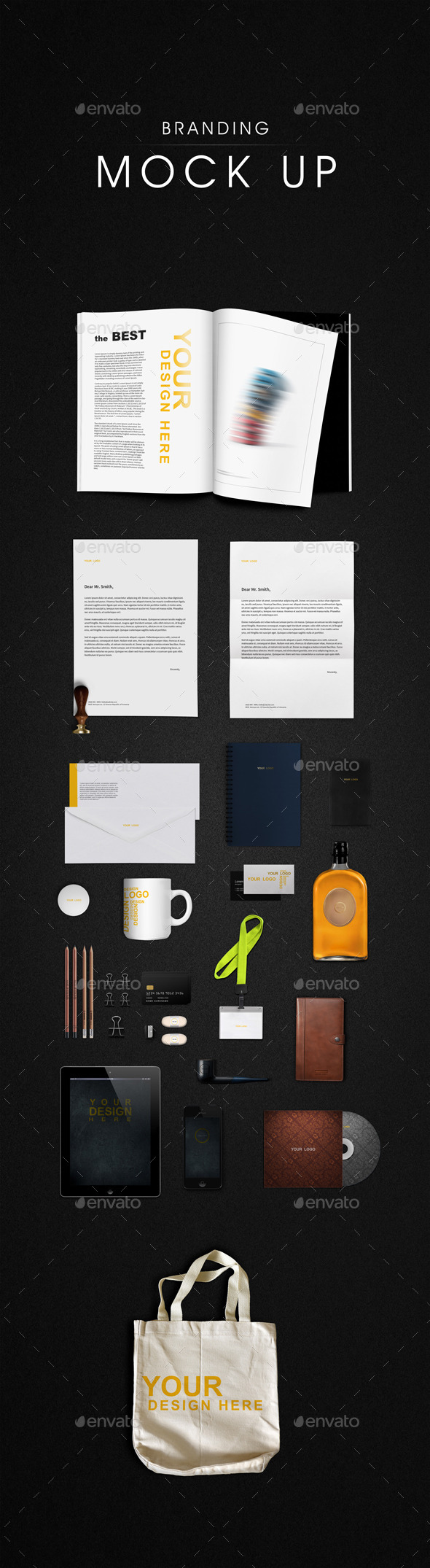 GraphicRiver Branding Mock-Ups 8801522