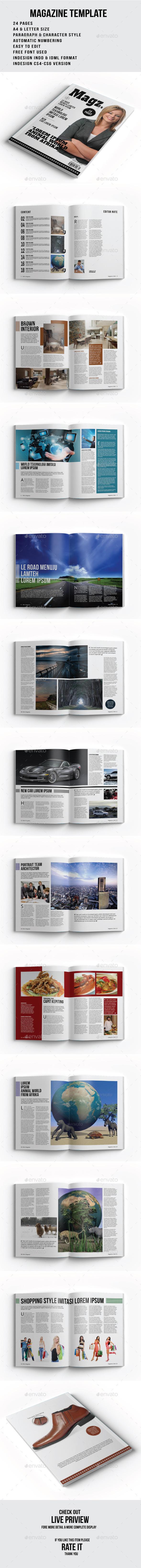 GraphicRiver Magazine Template 8798107