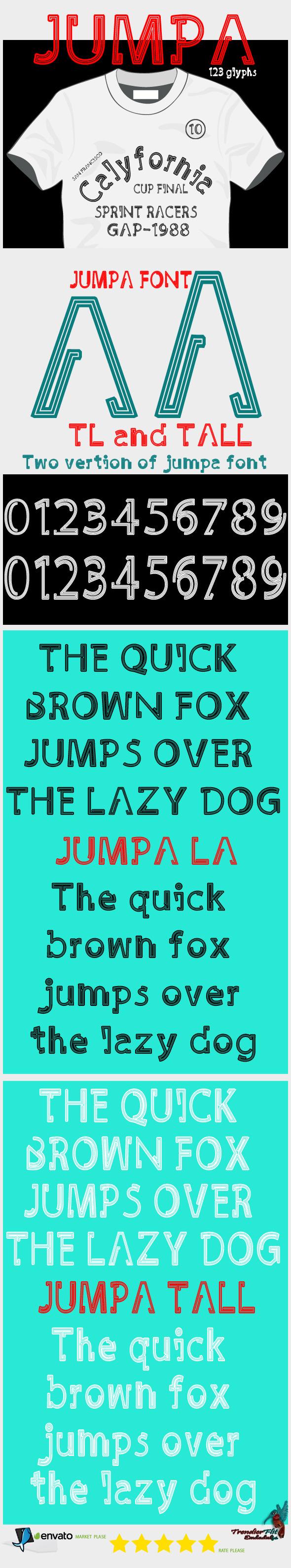 Jumpa Font