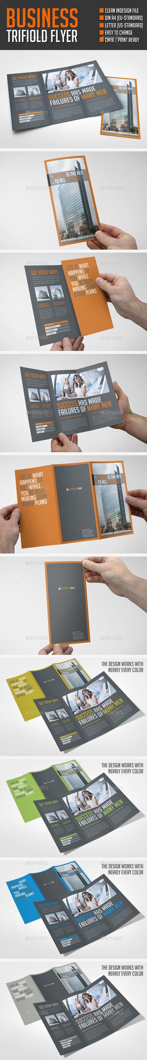 Business Flyer Dark - Brochures Print Templates
