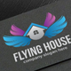 Flying House Logo - GraphicRiver Item for Sale