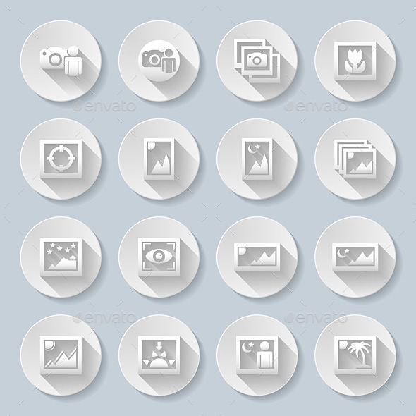 GraphicRiver Travel Landscapes Icons 8817974