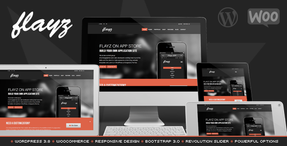 Flayz - Multipurpose Wordpress Theme - Business Corporate