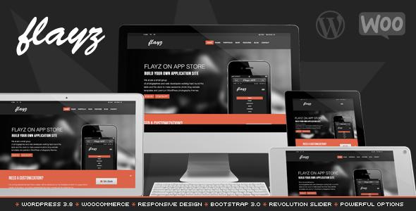 Flayz - Multipurpose Wordpress Theme - Business Corporate
