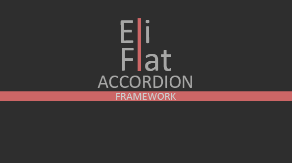 CodeCanyon Eli Flat Accordion Framework 8746088