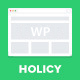 Holicy - OnePage WordPress Theme - ThemeForest Item for Sale